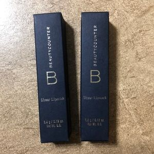 beautycounter Makeup - Set of 2 Beautycounter sheer lipsticks